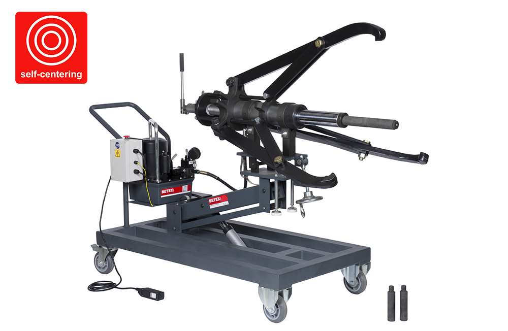 Betex HXPM 50 tons mobile hydraulic 3-arm puller - Bega Special Tools - Mobile hydraulic pullers - Bega Special Tools