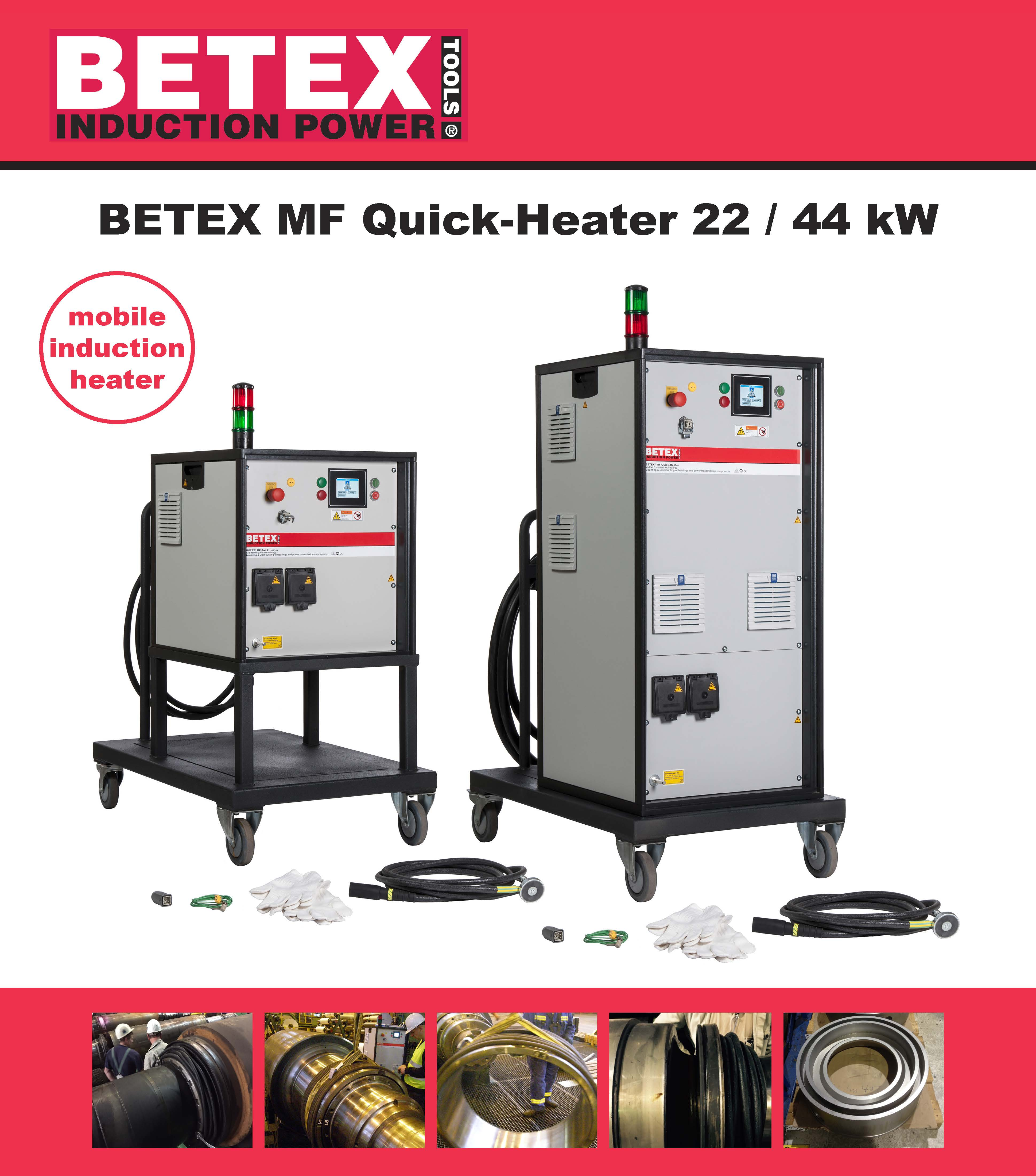 BETEX MF Quick-Heaters 22 & 44kW - Bega Special Tools
