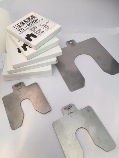 Betex Shims - Vulplaten - Bega Special Tools - BETEX Vulplaten Shims - Bega Special Tools