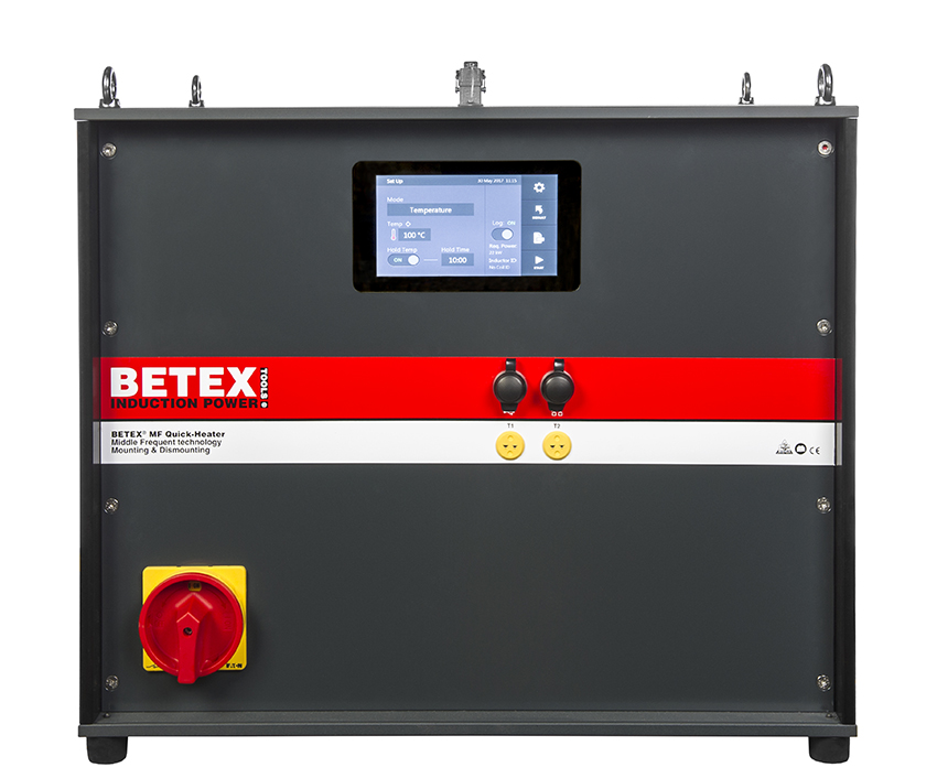 BETEX MF Quick-Heater 3.0 44kW - middelfrequent inductieverhitter - Bega Special Tools - BETEX MF Quick-Heater - Bega Special Tools