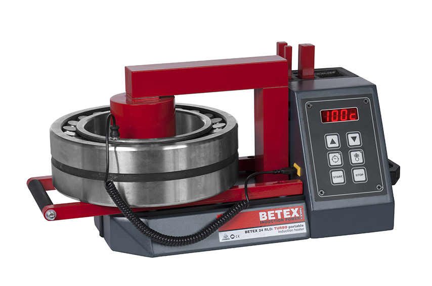 Betex 24 RLDi TURBO with small bearing - Bega Special Tools - BETEX portable Induction heaters for bearings up to 50 kg - Bega Special Tools