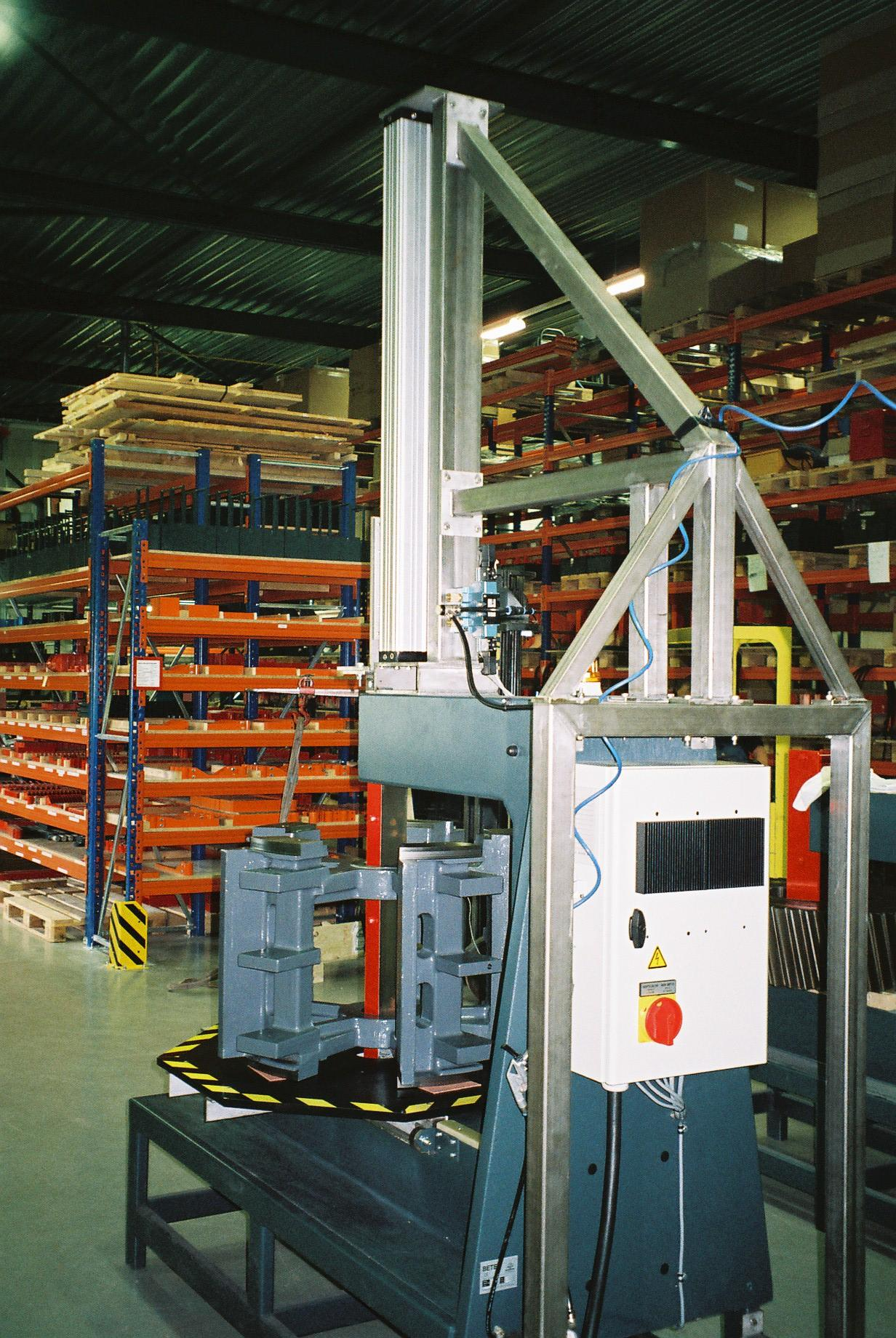 Betex Giant ingezet in Machine-industrie - Bega Special Tools