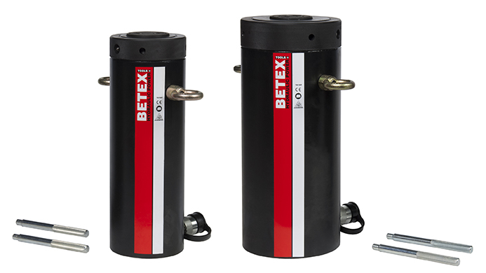 Betex JLLC cylinders - with locknut - high tonnage - Bega Special Tools - Betex Cylinders 700 bar - Bega Special Tools