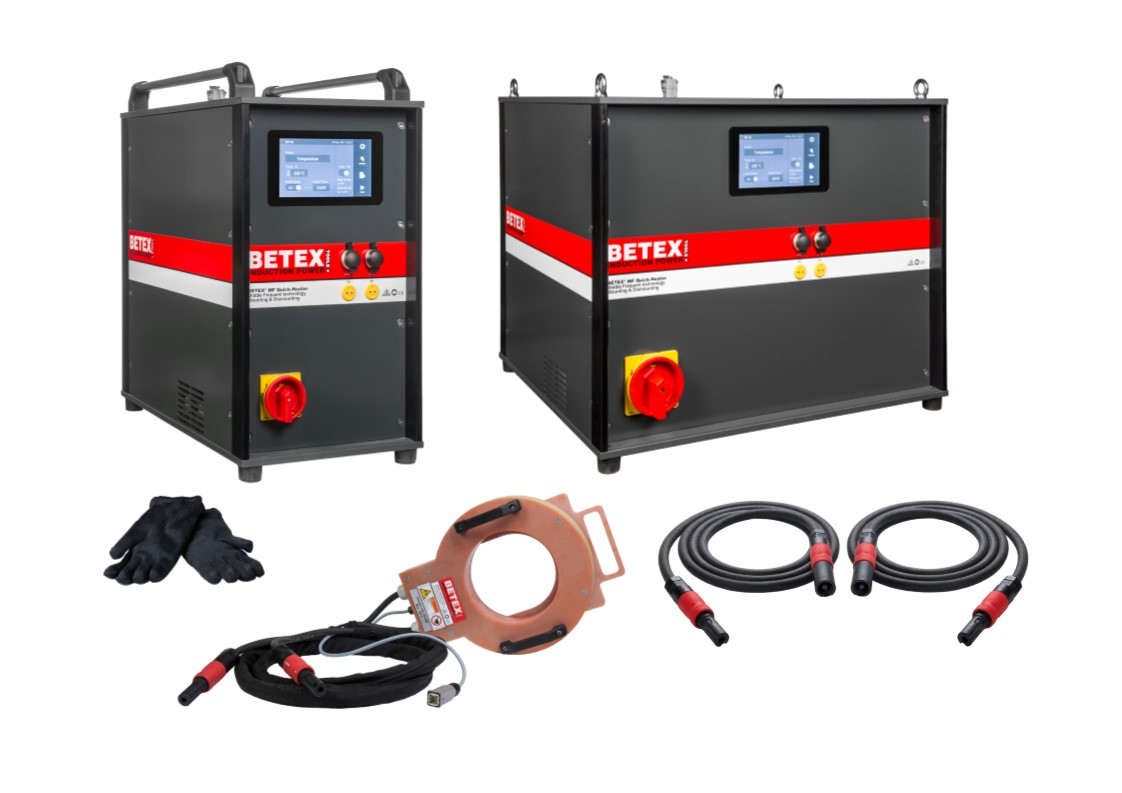 BETEX MF-Quick Heater 22kW on a trolley - Bega Special Tools