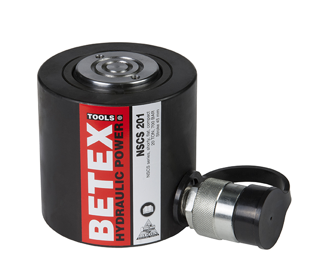 Betex NSCS cylinders - compact - short stroke - Bega Special Tools - Betex Cylinders 700 bar - Bega Special Tools