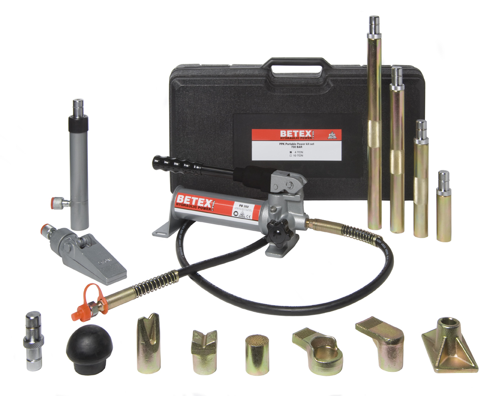 Betex PPK4 Portable Power Kits - Bega Special Tools