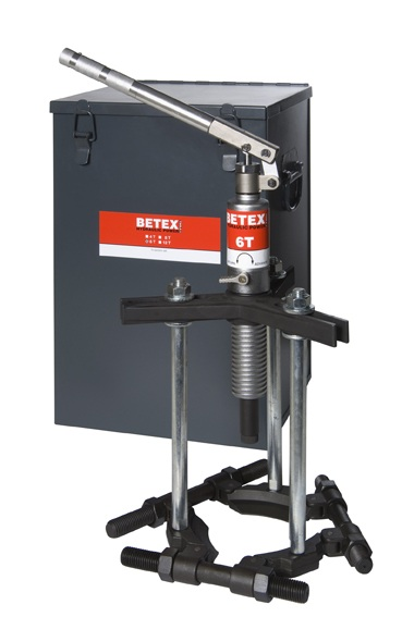 Betex tri-section set 6 ton + koffer - Bega Special Tools