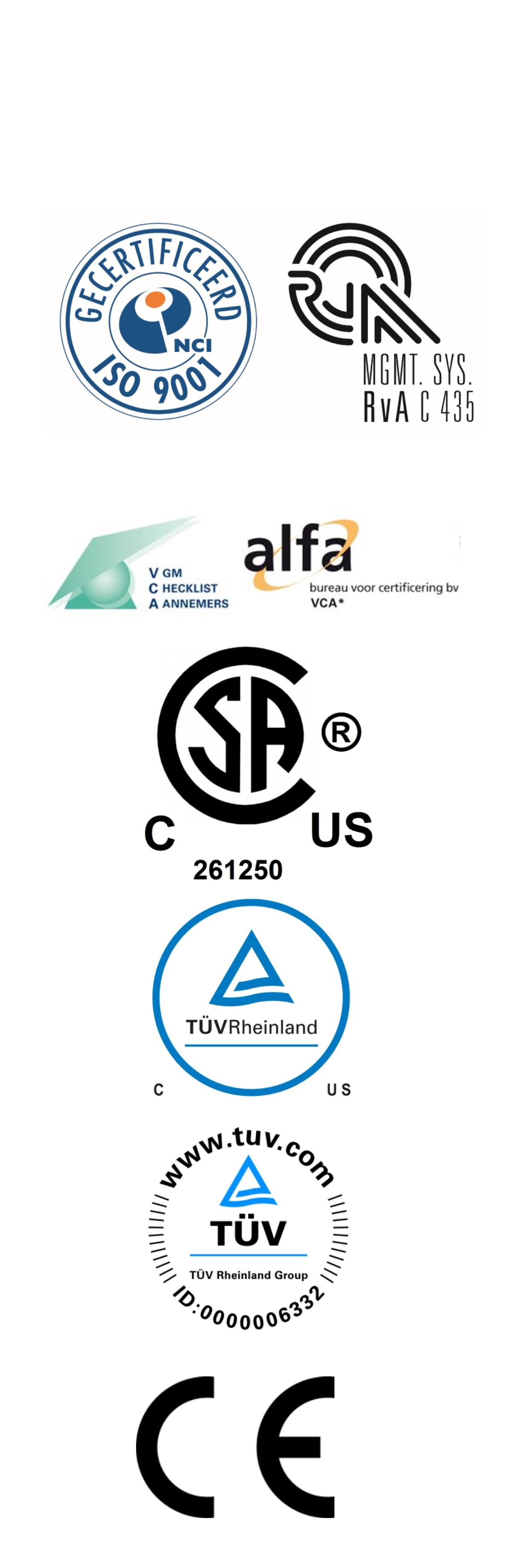 Certification about us bega special tools certifications 1betcityfo Images