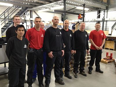 Productie-team Bega Special Tools
